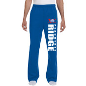 RIDGE - 974MP Jerzees 8 oz., 50/50 NuBlend® Open-Bottom Sweatpants
