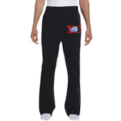 XC-Lion - 974MP Jerzees 8 oz., 50/50 NuBlend® Open-Bottom Sweatpants