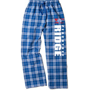 RIDGE - boxercraft F20 Team Pride Flannel Pant with Taping