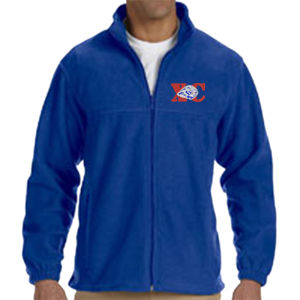 XC-Lion - M990 Harriton Men's 8oz. Full-Zip Fleece Thumbnail